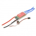 Thunder-40A M-SW 40A ESC w/ BEC Switching Mode for Brushless Motors on R/C Helicopters - Red