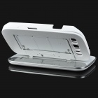 Detachable Bluetooth v3.0 + HS 51-Key Keyboard Case w/ Stand for Samsung Galaxy S3 / i9300 - White