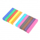 12-Color Temporary Crayon Hair Chalk Color Pen Set - Multicolored