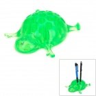 WL031 Turtle Style Creative Hard Plastic Pen Holder - Green