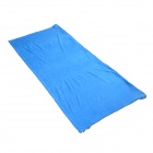 AOTU Mummy Style Polar Fleece Camping Sleeping Bag - Blue