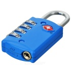 JUST LOCK TSA309 Zinc Alloy Travel Coded Lock - Blue
