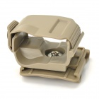 Nylon Plastic Clip Holster for G17 - Coyote Tan