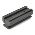 Y0012 Aluminum Alloy 11mm to 22mm Weaver Rail Scope Mount Base Adapter - Black