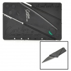 Coole Folding Credit Card Stil Sicherheit Messer - Black