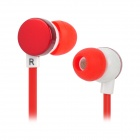 KD-18M 3,5 mm Klinke In-Ear-Ohrhörer - Red + White