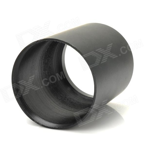 50mm Aluminum Alloy Sunshade Lens Hood for AOE Gunsight - Black
