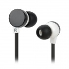 KD-18M 3.5mm Jack In-ear Earphone - Black + White