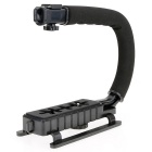 COCO CC-VH02 C-Shape Mount Holder Handle for DSLR / Camcorder DV - Black