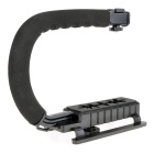 COCO CC-VH02 C-Shape Mount Holder Handle para DSLR / DV - Preto