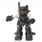 FY8088D 2.4GHz Radio Control Battle Robot - Black + White