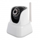 ZEA BHDW003 CMOS 1MP Wireless Smart IP Camera w/ 10-IR LED + TF Slot - Black + White