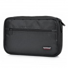 Travel Icons Portable Travel Multi-Function Nylon Crash-Proof Digital Product Storage Bag - Black