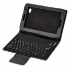 78-Key Bluetooth V3.0 Keyboard Cover Case w/ Stand for Samsung P6200 / P6210 / P6800 - Black