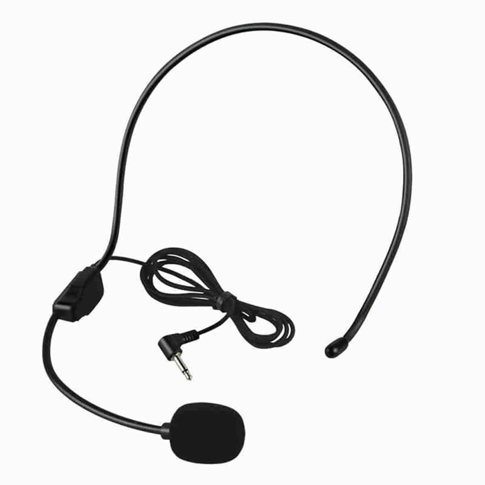 Universal Headset Microphone - Black (3.5mm Plug / 90cm-Cable) оперативная память kingston 16gb 2400mhz ddr4 dimm kvr24se17d8 16