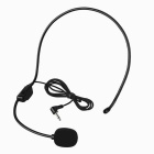 Universal Headset Microphone - Black (3.5mm Plug / 90cm-Cable)