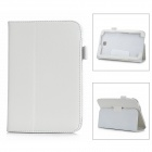 Protective PU Leather Stand Case for Galaxy Note 8.0 (N5100) - White