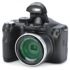 "BOQY CDR5 3.0"" TFT 14MP CMOS 10X Optical Zoom Digital Camera w/ SD Slot / Mini USB - Black"