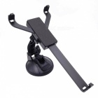 360 Degree Rotational Car Mount Holder w/ Suction Cup for Tablet PC / GPS / DVD Player - Black