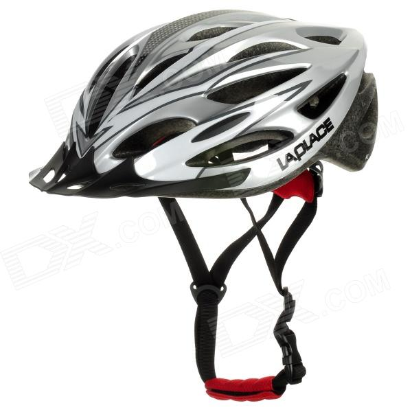 Laplace A1 Cool Outdoor Bike Bicycle Cycling Helmet - Silver (52~61cm)