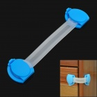 TY-01 Multifunction Lengthened Baby Safe Drawer Lock - Sky Blue + Translucent White