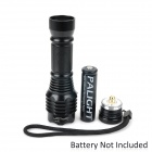 UltraFire 0516 300lm 5-Mode White Diving Flashlight w/ CREE XM-L T6 - Black (1 x 18650)