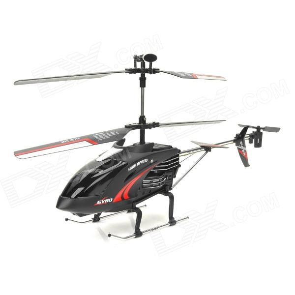 HanKey 3.5-CH Radio Control R/C Helicopter w/ Gyro - Black playarts kai star wars darth maul pvc action figure collectible model toy 28cm free shipping kb0276