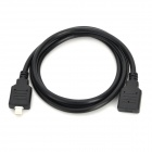 iPhone 8-Pin lightning Male to Female Extension Cable for iPhone 5 / iPad 4 / iPad Mini - Black