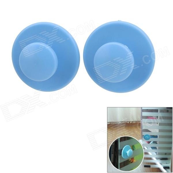 NK-01 Plastic Door Handle Knobs - Pastel Blue (2 PCS)