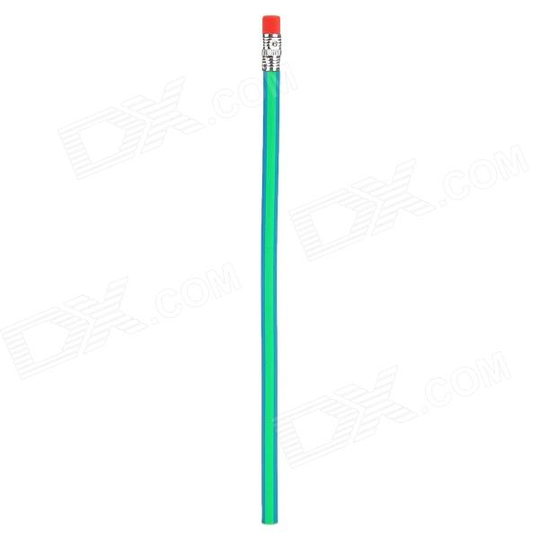 ZX0229 Creative Polymer Clay + Soft Graphite Soft Pencil - Green + Blue + Red