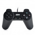 TOPWAY USB818 Wired USB 2.0 Game Controller / Joystick / Joypad - Black (150cm-Cable)
