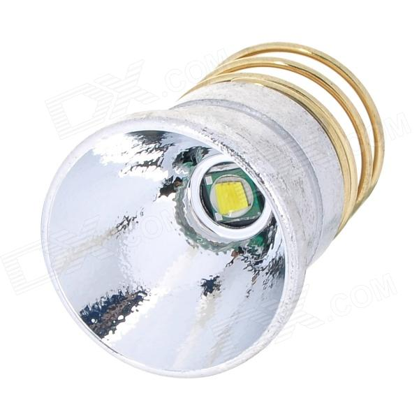 16mm 600~885lm Cool White Bulb Board + Aluminum Textured Reflector w/ CREE XM-L T6 for Flashlight