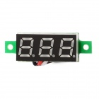 "V18D Dual-Wire 3-Digit 0.28"" LED Digital Voltmeter Module - Black + White (DC 0~1000V)"