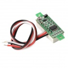 "V18D Dual-Wire 3-Digit 0.28"" LED Digital Voltmeter Module - Black + White (DC 0~100V)"