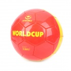 WINMAX WMY11603 Professional Racing PVC + Rubber Football - Red + Yellow