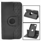 Protective Plastic 360 Rotary Case for Blackberry Z10 w/ Stand - Black