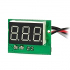 "C20D 3-digit 0.56"" Blue LED Digital Ammeter Meter Module - Black + Green"
