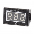 "V40D 0.56"" LED Digital Voltmeter Module for Electric Motor / Power Car - Black + White (DC 15~120V)"