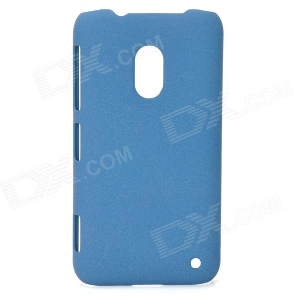 Super-thin Protective PC Matte Back Case for Nokia Lumia 620 - Steel Blue mooncase slim leather side flip wallet card slot pouch with kickstand shell back чехол для lg l bello d331 d335 red