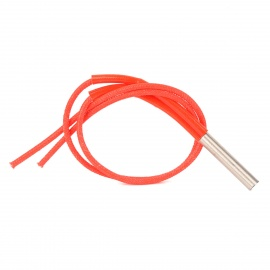 12V 40W Ceramic Cartridge Heater for RepRap 3D Printer - Red + Silver