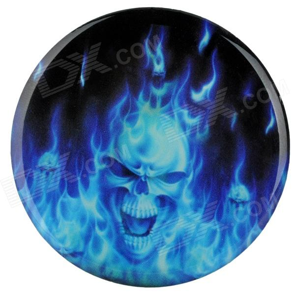blue flames skull flame - photo #31
