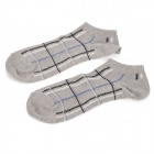 Fashion Cotton Men Socks - Grey