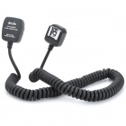 Meyin EC-966 Flashgun Flashlight Connection Cable for Nikon Camera - Black (360cm)