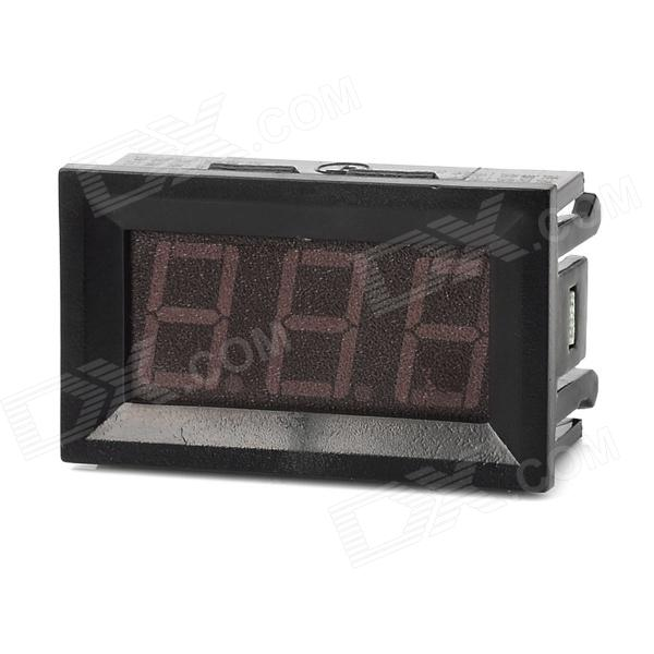 C27D 3-Digit 0.56 LED Digital DC Ammeter Module - Black (DC 4.5~28V) 4 digit red led digital amperemeter black dc 5v