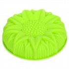 Sunflower Style Silicone DIY Cake Dessert Mold - Green