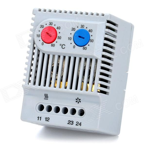 где купить  ZR011 2-Channel Normally Close / Open Temperature Controller - Grey (0~60'C)  дешево