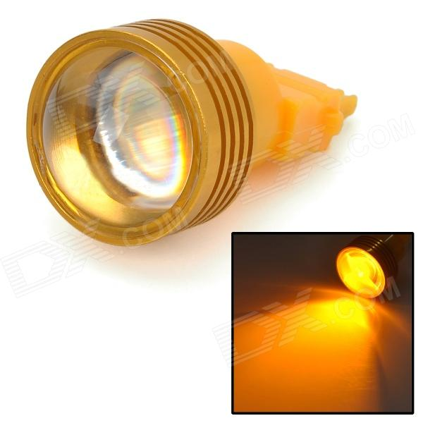 DF115638 3156 3W 200lm 590nm LED jaune Light Car directeur Light - (12V DC)