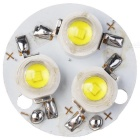 X15902 3W 270lm 6000 ~ 6500K 3-LED Cold White Light Lamp Module