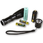 SingFire SF-705A 800lm 5-Mode White Zooming Flashlight - Black