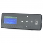 "GXT GXT-02 1.1"" LCD MP3 Music Player w/ FM - Black + Silver"